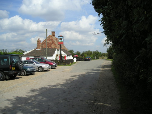 The Wool Pack pub near Rye, Sussex
